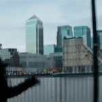 Is that a future Bond we see racing around London in Unlocked?